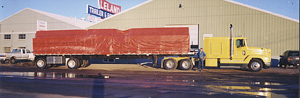 Logging and Contstruction storage trailers parts, East Manufacturing, Truck Trailers, Great Dane Truck Trailers, Reinke Truck Trailers, Transcraft Manufacturing trailers, Cargo vans,